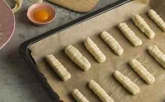 Traditional tequenos making arrangement for food photo
