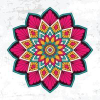 Islamic flower pattern design vector