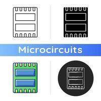 icono de puerto de computadora vector