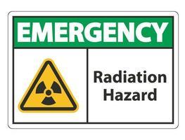 Radiation Hazard Symbol vector