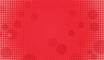 Abstract Red circle halftone background vector