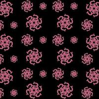 Flowery Pattern Vector Abstract Design