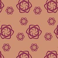 Antique Flower Pattern Vector Design