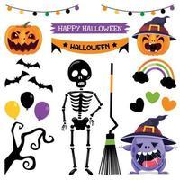 Cute Halloween Banner vector