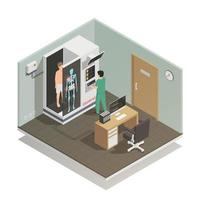 Medicine Future Technology Composition Vector Illustration