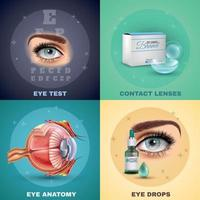 Vision Realistic Design Concept Vector Illustration