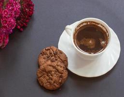 Turkish black coffee photo