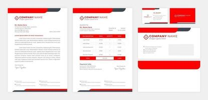 Set of Business Identity vector