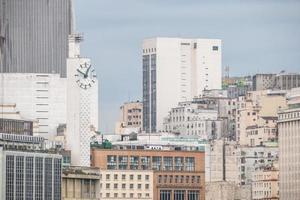 edificios en el centro de río de janeiro, brasil foto