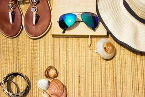 Ready for beach accessories photo