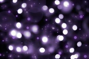 Fondo abstracto bokeh violeta oscuro foto