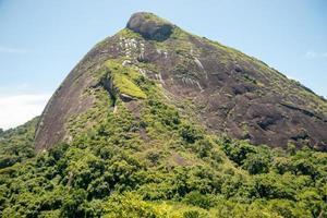 Hill from the goats stone Maroca, view of the Lagoa Rodrigo de Freitas, Rio de Janeiro photo