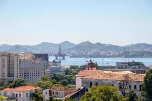 Downtown Rio de Janeiro, seen from the top of the Santa Teresa neighborhood photo