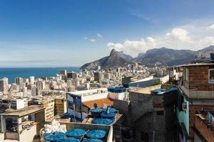 View from the top of Cantagalo hill in Ipanema, Rio de Janeiro photo
