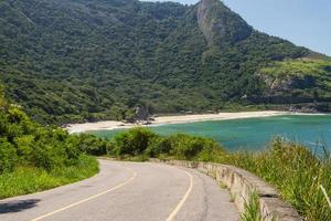 Little beach on the west side of Rio de Janeiro photo
