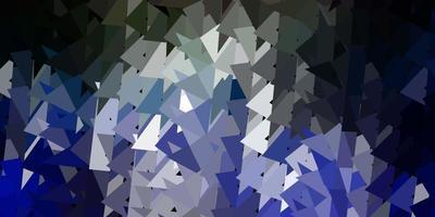 Dark multicolor vector abstract triangle background.