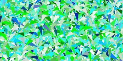 Light multicolor vector texture with random triangles.
