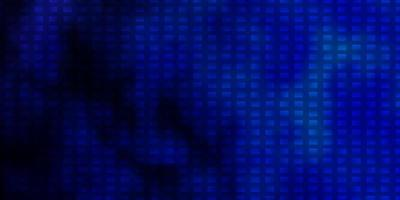 Dark BLUE vector texture in rectangular style.