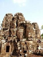 Ruins in Angkor Wat in Siem Reap, Cambodia photo