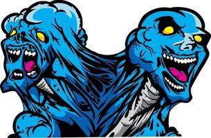 Zombie Outbreak T shirt Design vector
