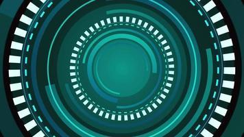 top graphiques cercle fond numérique video