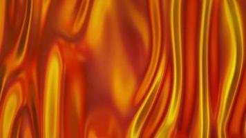 chiffon fluide liquide brillant doré video