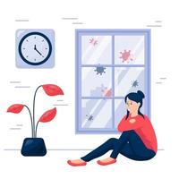 curfew concept illustration vector