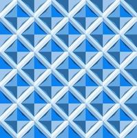 This is a polygonal blue geometric pattern with a diamond shaped tile vector