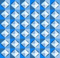 This is a polygonal blue geometric checkered pattern with a light rhombus vector