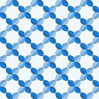 This is a polygonal blue geometric pattern with a grid of beads vector
