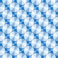 This is a polygonal blue geometric pattern with circles vector