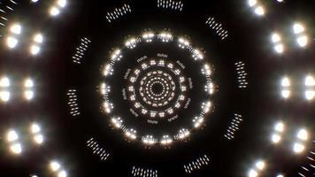 fondo de partículas de luz parpadeante video