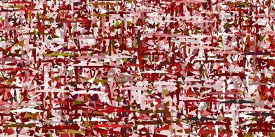 Light Red vector texture with triangular style.