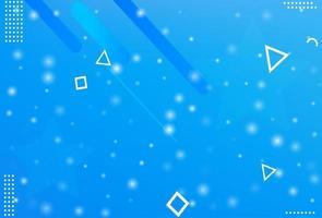 fondo azul abstracto de invierno vector