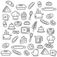 Food and beverage outline icon vector