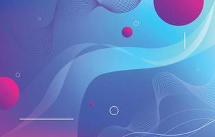 Abstract Retro Color Background vector