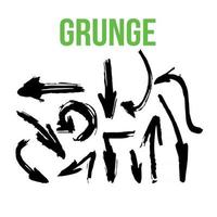 Grunge brush Collection vector