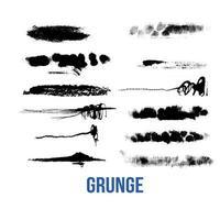 brush strokes bundle vector