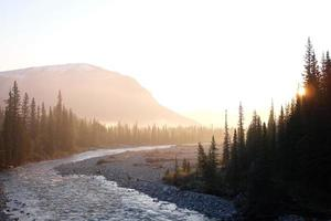 Little Elbow River, Alberta, Canada photo
