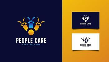Colorful People Logo vector