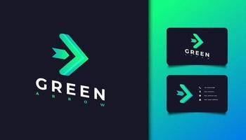 Green Arrow Logo vector