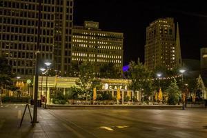 Philadelphia, PA, Nov 13, 2016 - Philadelphia City at night photo