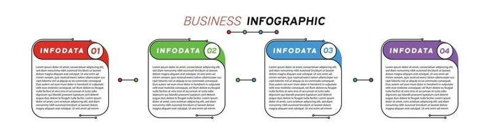 Design elements of business infographics Set of 3D infographics vector