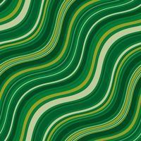 patrones sin fisuras con ondas de colores tonos verdes vector