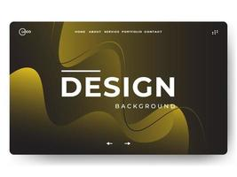 Liquid Abstract Background Minimal for landing page vector