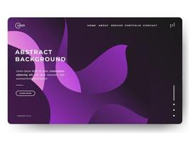 Liquid Abstract Background Purple Minimal for landing pages vector