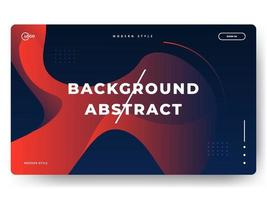 Liquid Abstract Background Red Minimal for landing pages vector