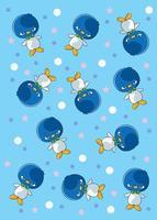 Penguin Cartoon stock illustration vector