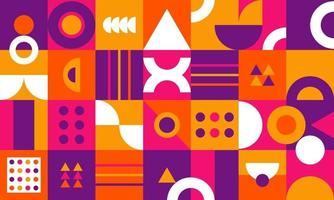 Abstract geometric background with minimal design vector