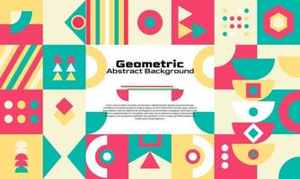 Abstract geometric background minimal design vector